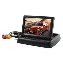 Rearview Backup Camera 4.3 Inch TFT LCD Car Monitor