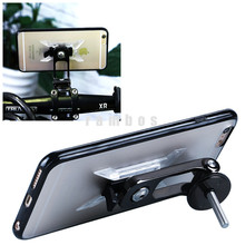 6 Plus Ride Case Stem Handlebar Motorbikes Bicycle Smart Phone Clamp Holders for iPhone 6 Plus with Hard Plastic Case