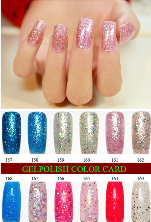 sweet color,long lasting rnk gel nail polish