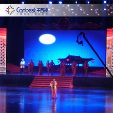 CANBEST rental indoor stage background led display big screen