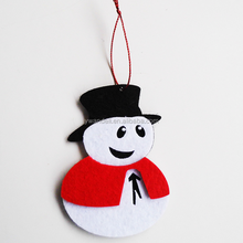 Custom Cartoon Design Christmas Snowman Decoration For Home