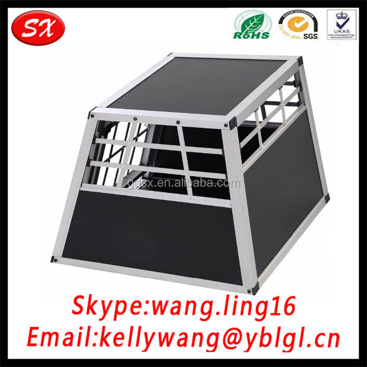 Custom Made Foldable Aluminum Dog House, Pets Kennel Carrier