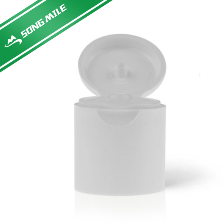 Different size high quality flip top cap for cosmetics