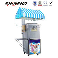 S004 commercial ice cream makers for sale/commercial ice cream machine/big capacity ice cream machine