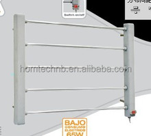 Low MOQ wall mounted electric towel bar with low price.electric heating hanger..clothes dryer stand