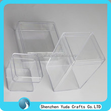 transparent small plastic storage box clear plastic box with removable lid