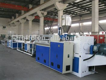 PVC Double Cavity Pipe Production Line