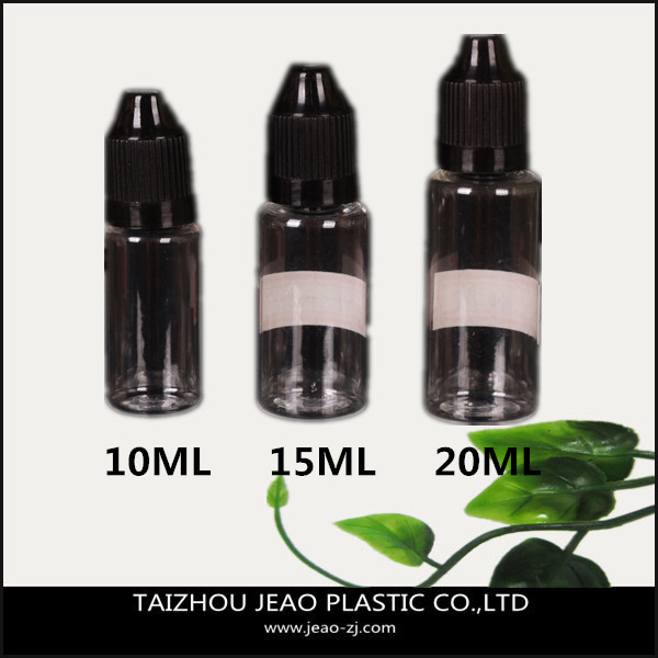 Specialized 10ml plastic e-liquid bottle /electronic cigarette oil bottle /eye dropped bottle