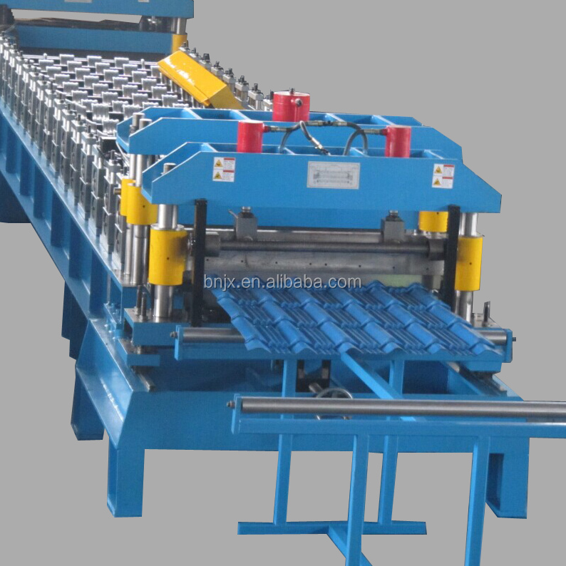 Galvanized Meatal double layer roofing sheet roll forming machine/double layer roof tile roller former machinery