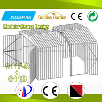solid structure cheap steel carport garage canopy
