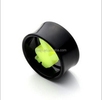 Acrylic Rabbit Ear Plugs Tunnels Piercing Body Jewelry