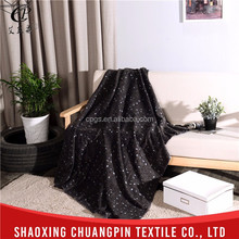 Hot sale new design soft touch thermal bedding extra soft flannel fleece blanket