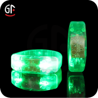 Fashion Hot Product Elegant Party Decorations For 2016 LED Promotion Items PVC Led Bracelet