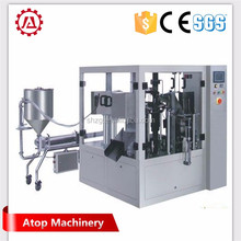 Liquid bag filling packing machine stand-up pouch bag packaging machine soybean milk packaging machine