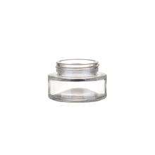 Top Selling recyclable empty 30ml cosmetics cream glass bottles and jars