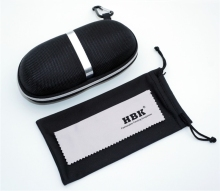 HBK Original factory sunglasses case custom logo high quality eva custom print sunglasses case