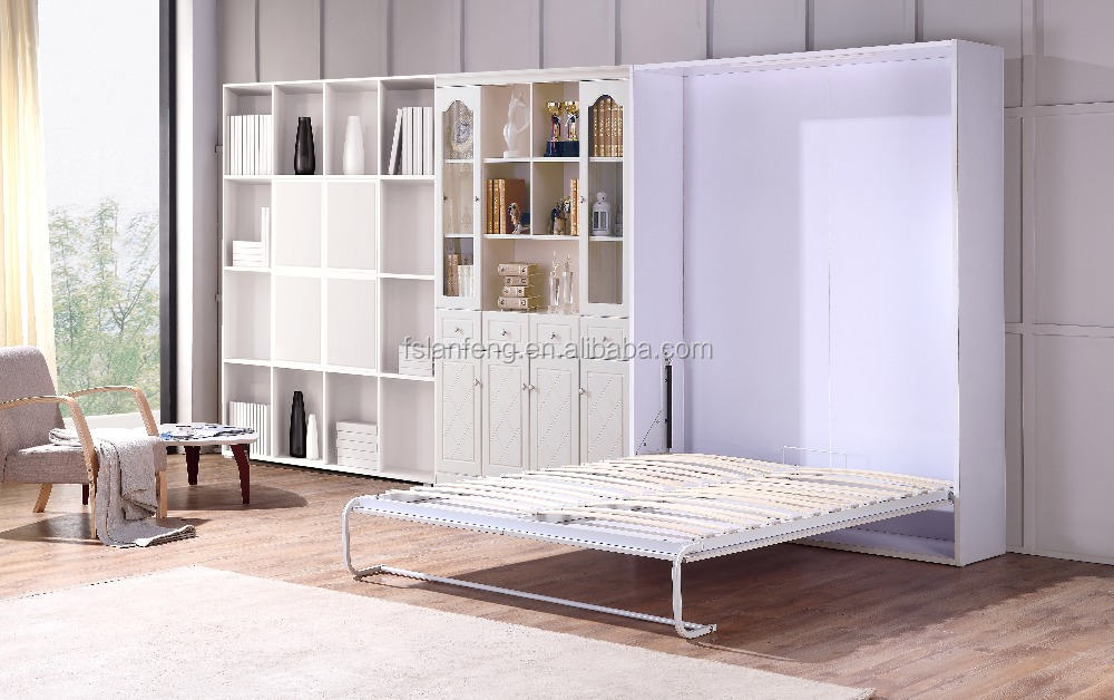 Wall folding bed pull down wall bed buy pull down wall - Bed that folds down from wall ...