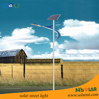 8M led solar street light with pole, company looking for distributors