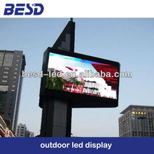 BESD P10mm Epistar/Cree/Nichia LED display, brightness reach at least 8000nits LED screen