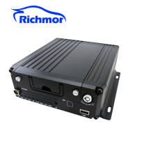 H.264 4CH AHD 720P HD SD Card Hybrid Mobile DVR/Vehicle MDVR