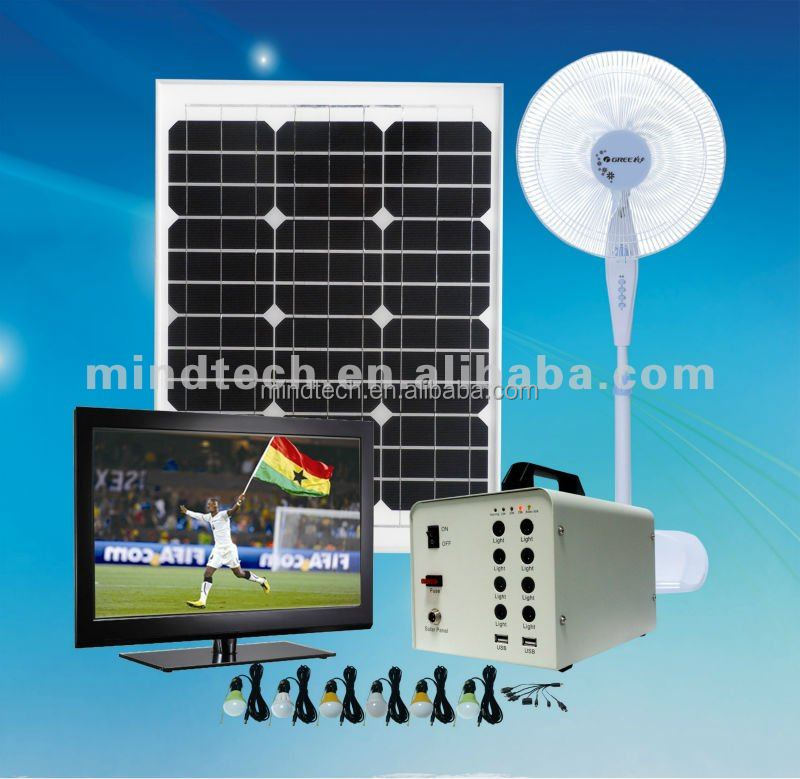 60W solar panel system for emergency situation