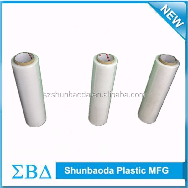 LLDPE plastic stretch film how to shrink wrap packaging machine