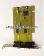 1/2/4/8 ports RS232 PCI/PCI-E multiple serial card