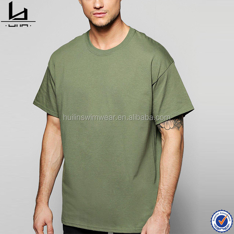 latest shirt designs oversized streetwear green casual cotton t shirt for men