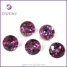 Wholesale synthetic amethyst round 15mm hydrothermal quartz