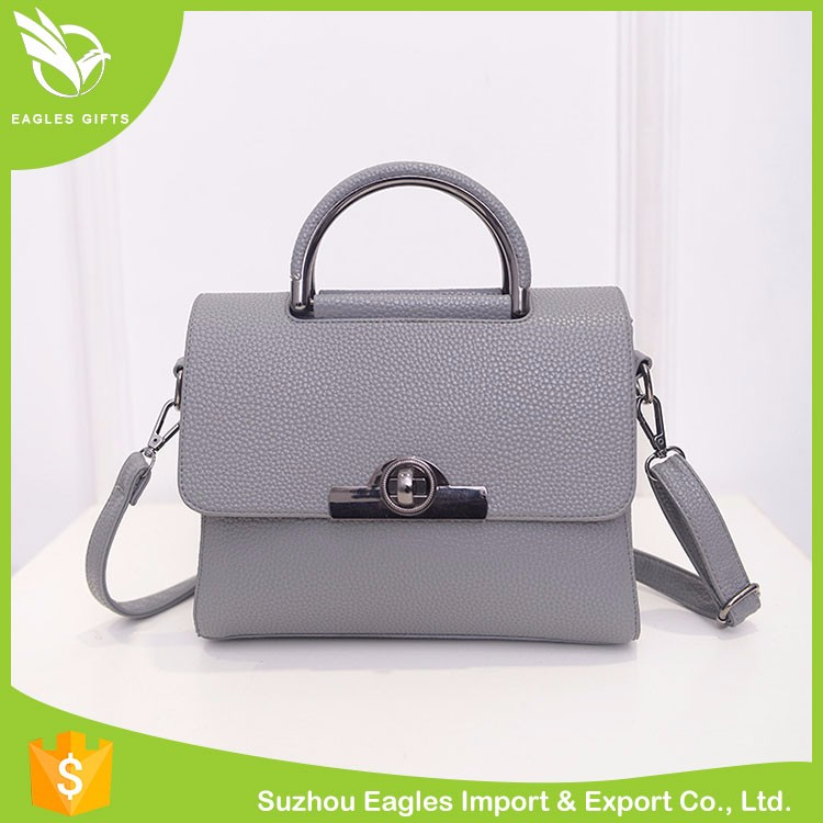 New Design Hot Sale Lady Bag Genuine Leather Shoulder Lady Handbags