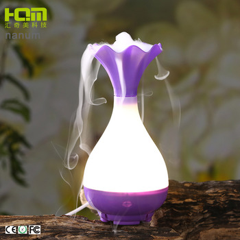 Manufacturer Vase Shaped Ultrasonic Discount Aroma Diffuser Humidifiers