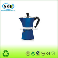 portable aluminum high quality coffee pot less coffee maker