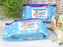 Wholesale baby wipes high quality natual wet wipes for baby