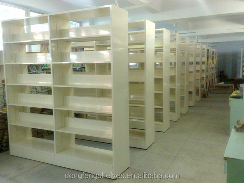 2016 popular library metal library book shelf
