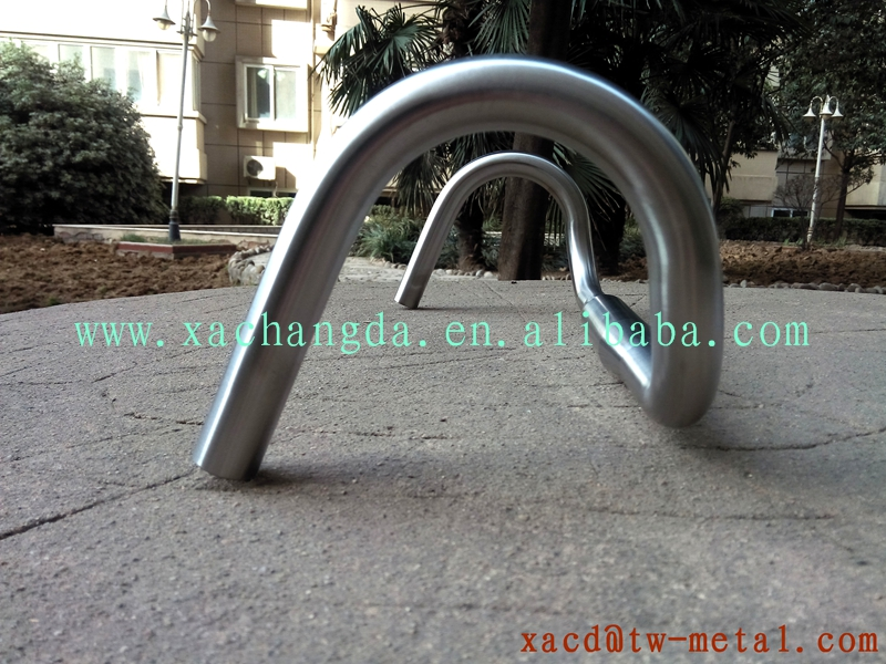 titanium road bike bending handlebar custom road handlebar with handing brush finished
