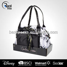 Fashional Bowling Bag with Cosmetics Purse