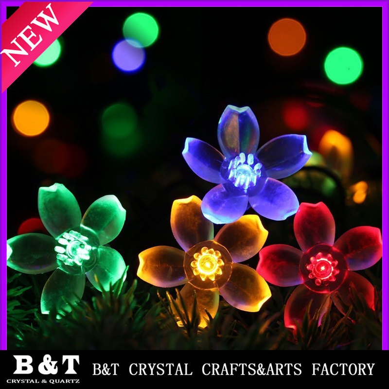 Globe Solar Outdoor String Lights, Multi Color Fairy Bubble Crystal Ball Christmas Lights Decorative Lighting and Hallowmas