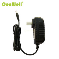 hot selling modem power supply 12V1.5A ac adapter us plug UL FCC approval