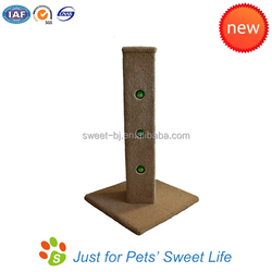 New Design Pet Products All Sisal Cat Scratching Post Large