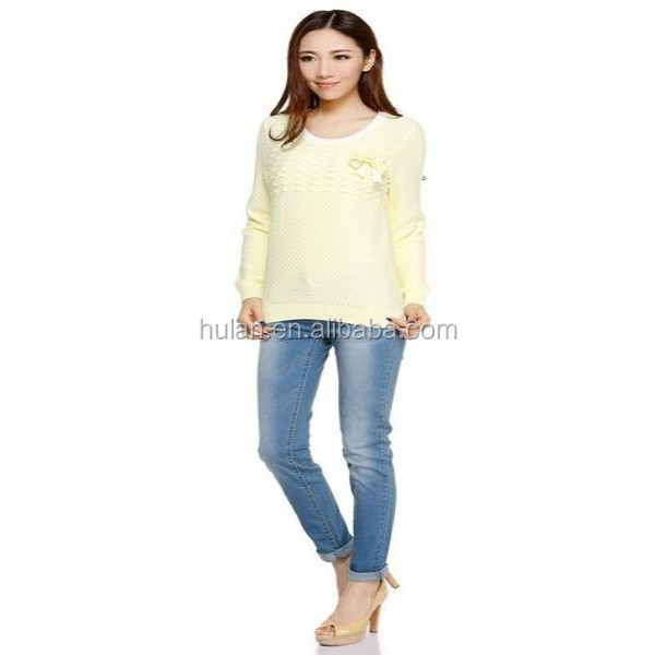 2015 hot sale roll neck pink lady diamond front wild long sleeve women sweater