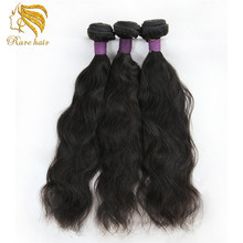 Lasting More Than One Year Raw Unprocessed Malaysian Naturally Wavy Virgin Remy Virgin Hair