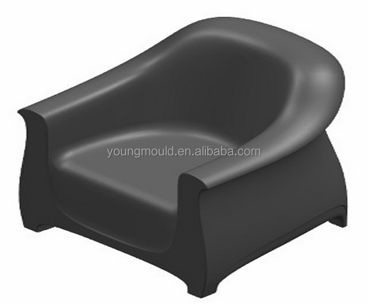 New Hot Fashion quality new coming plastic barcelona chair mould