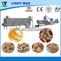soya bean protein nuggets chunks making machine processing line