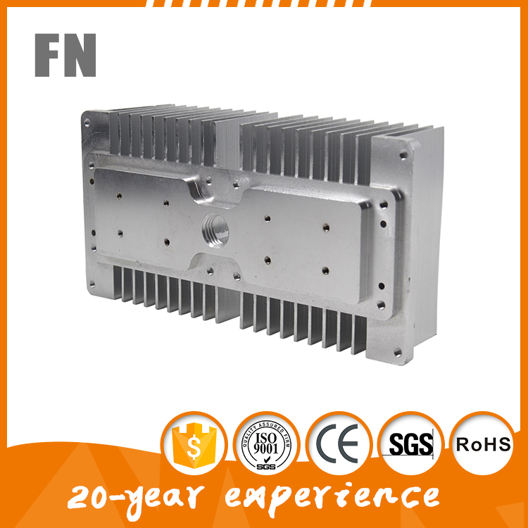 Made in China Fastener aluminum extrusion die casting heat sink for enclosure