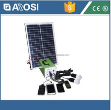 Full power solar airport runway lights 10w 7ah poly mini system made in China