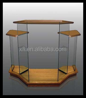 Modern Design Factory Sell Acrylic Church Pulpit/Church rostrum Designs/Acrylic platform