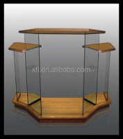 Buy diamond shaped acrylic podium plexiglass church pulpit rostrum ...