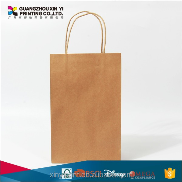 mini tote bag brown paper bags with your own logo