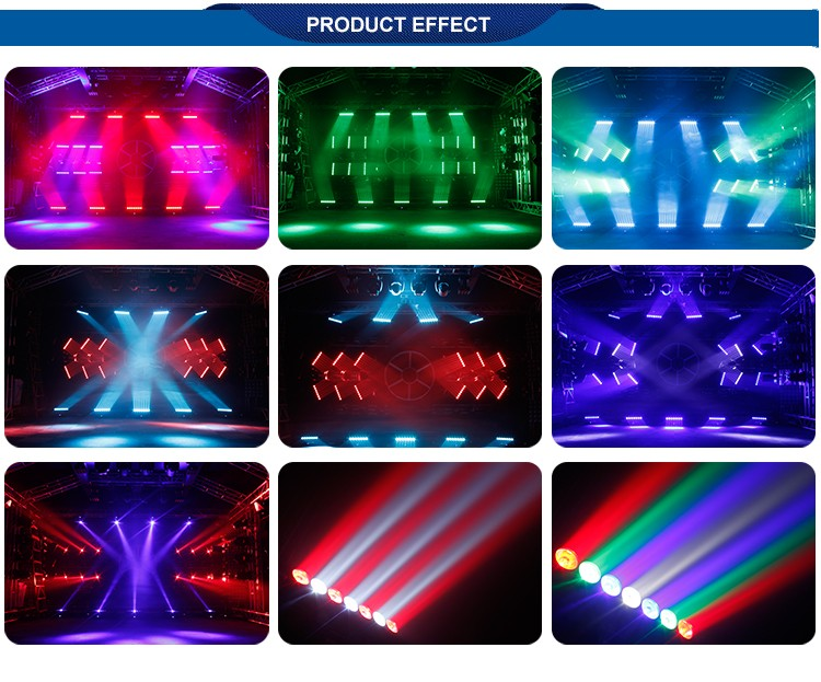 high power rotating 7x15W RGBW 4 in 1 Pixel led moving head beam