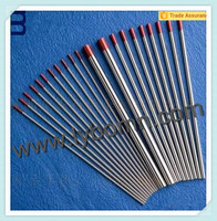 2.4mm*150mm tungsten electrode for TIG welding/WT20 Top grade thoriated tungsten electrode/Wolfram material tungsten electrode